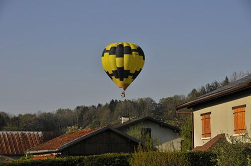 Montgolfière Annecy