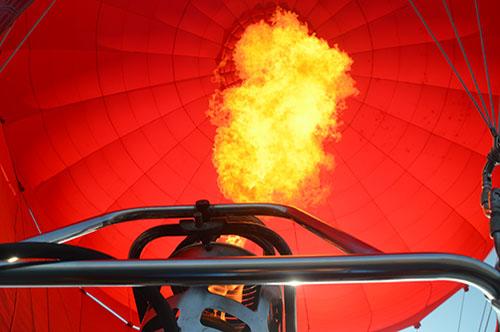 feu Montgolfière Annecy