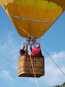 vol montgolfiere captif